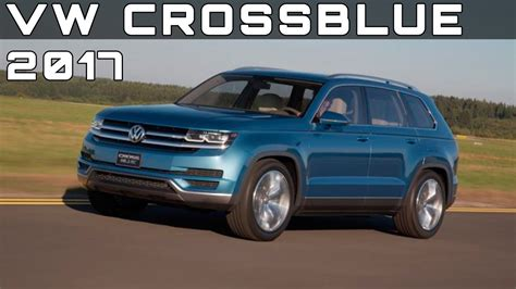 volkswagen crossblue price 2017 vw crossblue review rendered price specs release date