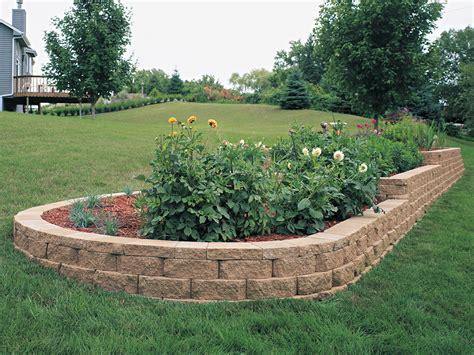 Retaining Wall Front Yard - windsor block stone retaining wall amp garden wall blocks