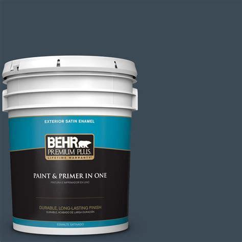 home depot yankee blue paint behr premium plus 5 gal bxc 26 new navy blue satin