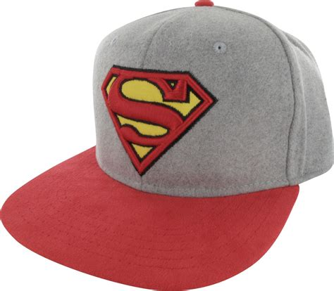 Buckle Hat superman logo felted crown buckle hat