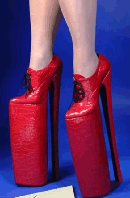 these high heel shoes are the highest shoes i ve seen