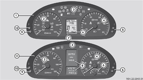 mercedes dashboard symbols sprinter van warning light symbols iron blog