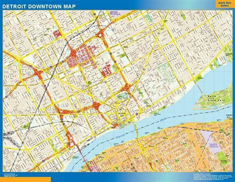 detroit in usa map detroit maps michigan us maps of detroit detroit michigan