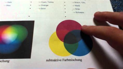 welche farben ergeben braun farben mischen farbenlehre