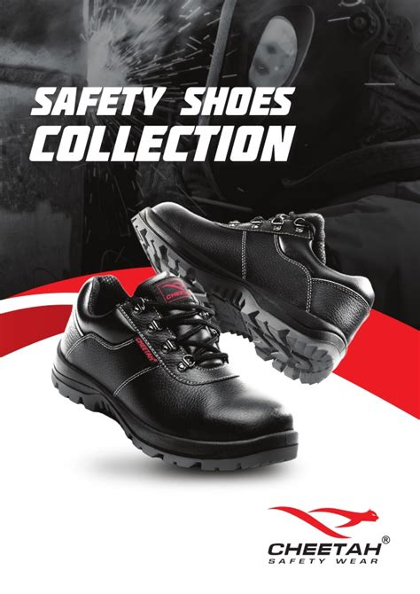 Safety Shoes Cheetah 7288h cheetah safety shoes 2016