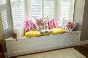 window bench diy bay window bench diy projects by molly
