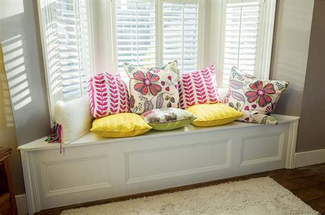 bay window bench diy bay window bench diy projects by molly