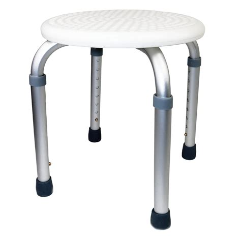Bathroom Stool For Disabled Height Adjustable Shower Stool Seat Disability Aid