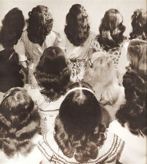 1950s teen hairstyles 1940s hairstyles on tumblr