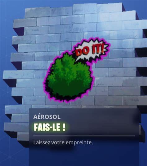 fortnite les joueurs peuvent taguer les murs  les
