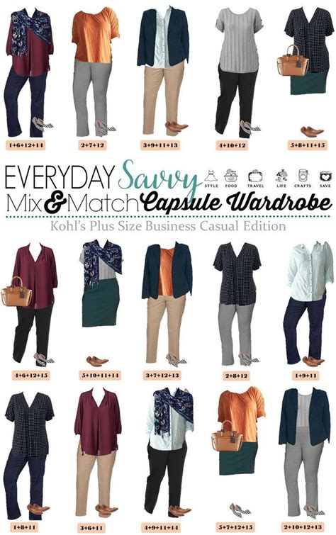 plus size mix and match kohls plus size business casual ideas for mix match business casual