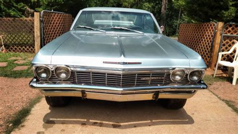 1965 impala ss 396 for sale 1965 chevrolet impala ss 396 425hp for sale