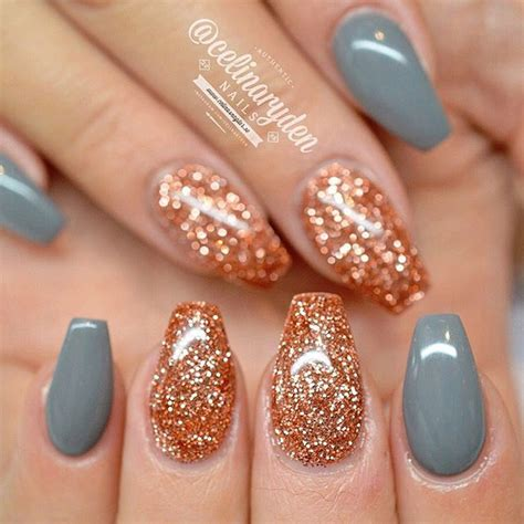 nail light for gel nails light elegance quot cinnamon quot rose gold glitter gel polish