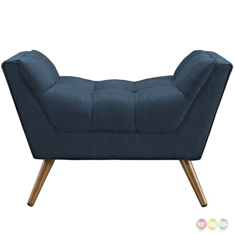 Tufted Upholstered Ottoman Response Contemporary Button Tufted Upholstered Ottoman Azure