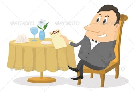 bench manly menu man at restaurant table by alexokokok graphicriver