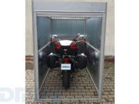 portatif motorsiklet garaji dmd panjur ve sineklik sistemleri