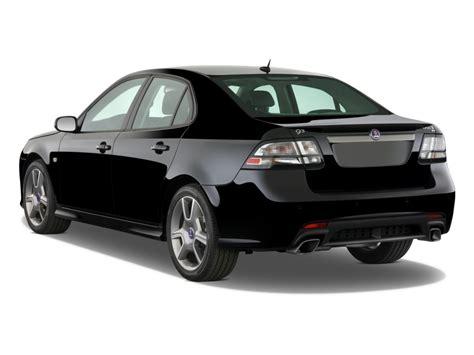 image 2009 saab 9 3 4 door sedan aero awd angular rear