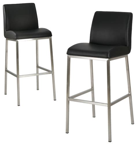 denise austin home october bonded leather barstool set of denise austin home october bonded leather bar stools set