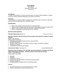 bookkeeper resume template 5 free word pdf documents