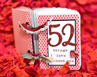 52 things i about you cards template scrap yard cards 52 things a s gift