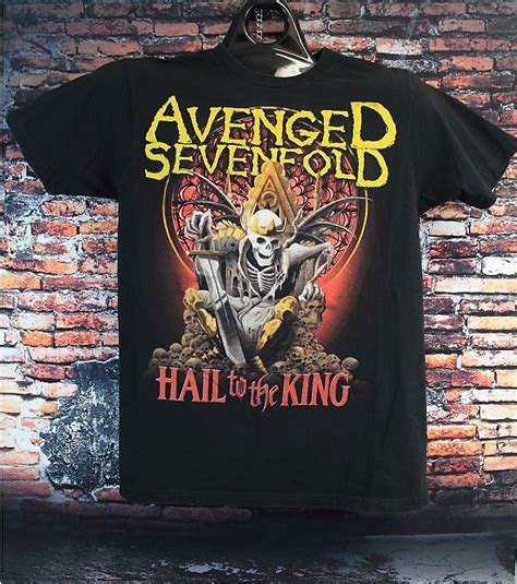 T Shirt Hail To The King avenged sevenfold band t shirt hail to the king album
