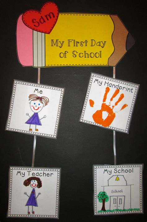 day kindergarten activities back to school centers printables craftivities aligned