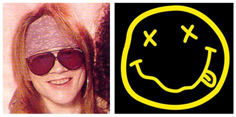 axl rose tattoos meaning nirvana smiley logo www pixshark images