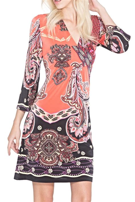 Dress Adore adore apparel boho pattern tunic dress from chicago by