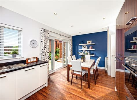 modern living in the open plan kitchen diner new home finder