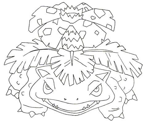 pokemon coloring pages mega venusaur pin kleurplaat 4 on pinterest pokemon coloring pages
