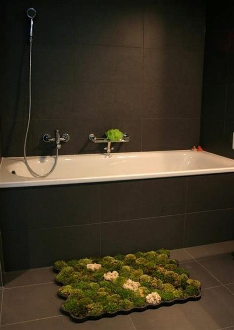 Living Moss Bath Mat By Nguyen La Chanh Homeli Moss Bathroom Rug