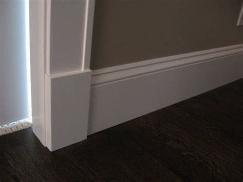 baseboard height tall baseboards house building ideas pinterest