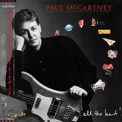 Paul Mccartneys Yet To Be Released Album Available Drm Free For 156 Apple Pissed Probably by Paul Mccartney All The Best Vinyl Lp At Discogs