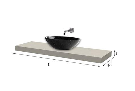 lavabo bagno misure top lavabo laminato su misura