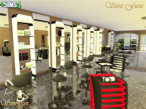 sims 4 cc beauty salon beauty salon by sim4fun at sims fans 187 sims 4 updates