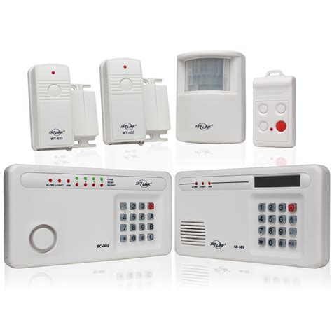 alarm system homes skylink sc 1000 complete wireless alarm system review