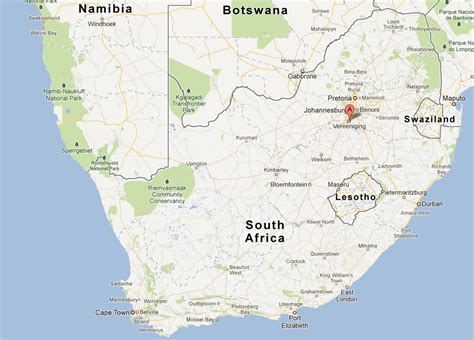 map of vereeniging vereeniging map and vereeniging satellite image