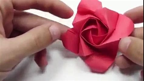 Easy Origami Roses - origami easy origami folding how to