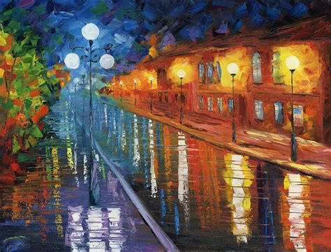 paint nite orleans midnight city painting by ash hussein