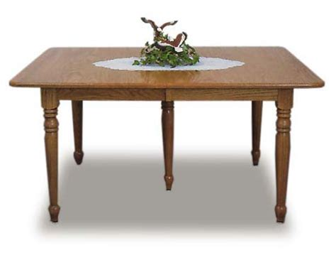 amish kitchen leg table amish dining room furniture