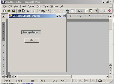 creating office 2000 solutions using net codeproject