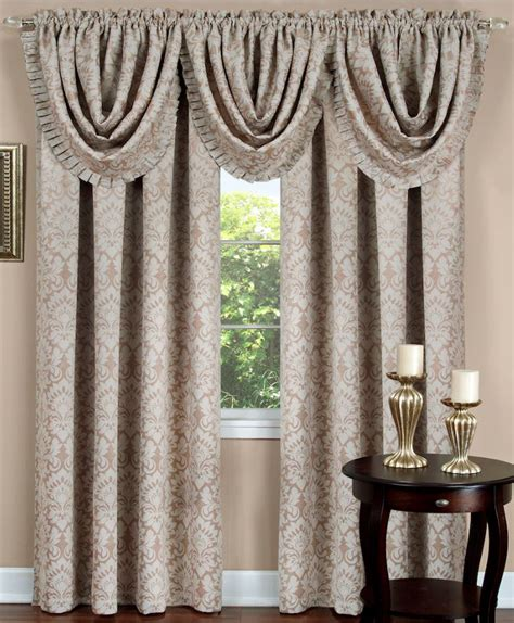 Sutton Curtain Panel Brown Achim Lined Curtains