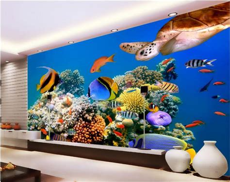 popular turtle wall murals buy cheap turtle wall murals