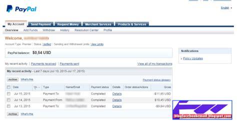 membuat paypal dengan vcc cara saya daftar dan membuat paypal sai verified