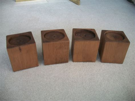 couch risers wood set of 4 alder wood bed risers furniture blocks leg