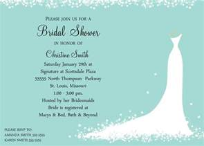 bridal shower invitations bridal shower invitations gift card