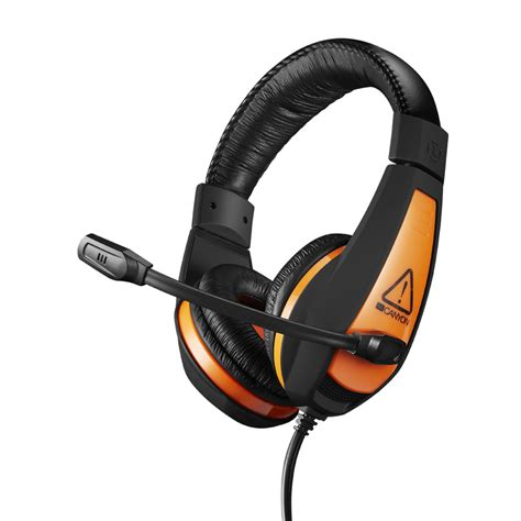 comfortable headsets canyon lightweight comfortable gaming headset 3 5mm jack