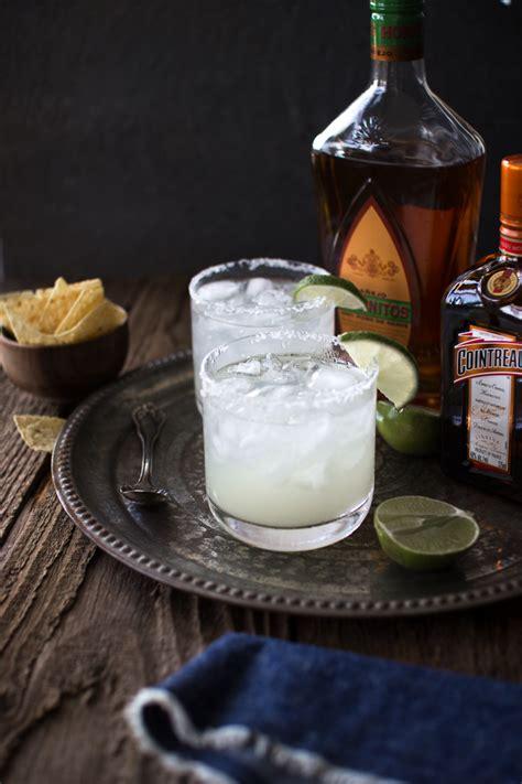 Top Shelf Margarita On The Rocks Recipe by Flourishing Foodie How To Make The Margarita On