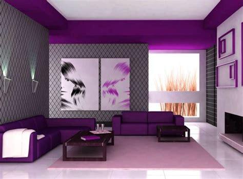 desain interior ruang tamu warna ungu interior ruang tamu dengan perpaduan warna ungu