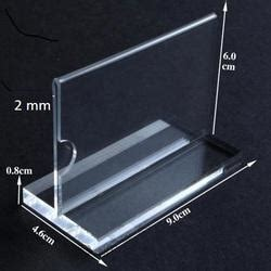 Acrylic Tent Card acrylic tent card holder acrylic offer price tag information card holder manufacturer from